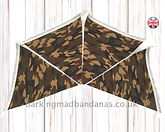 Army Bunting, Camouflage Bunting, Camping, Cheap, Value UK