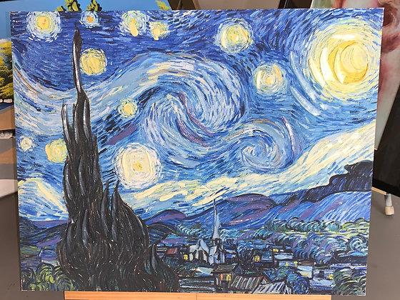 Starry night adaptation