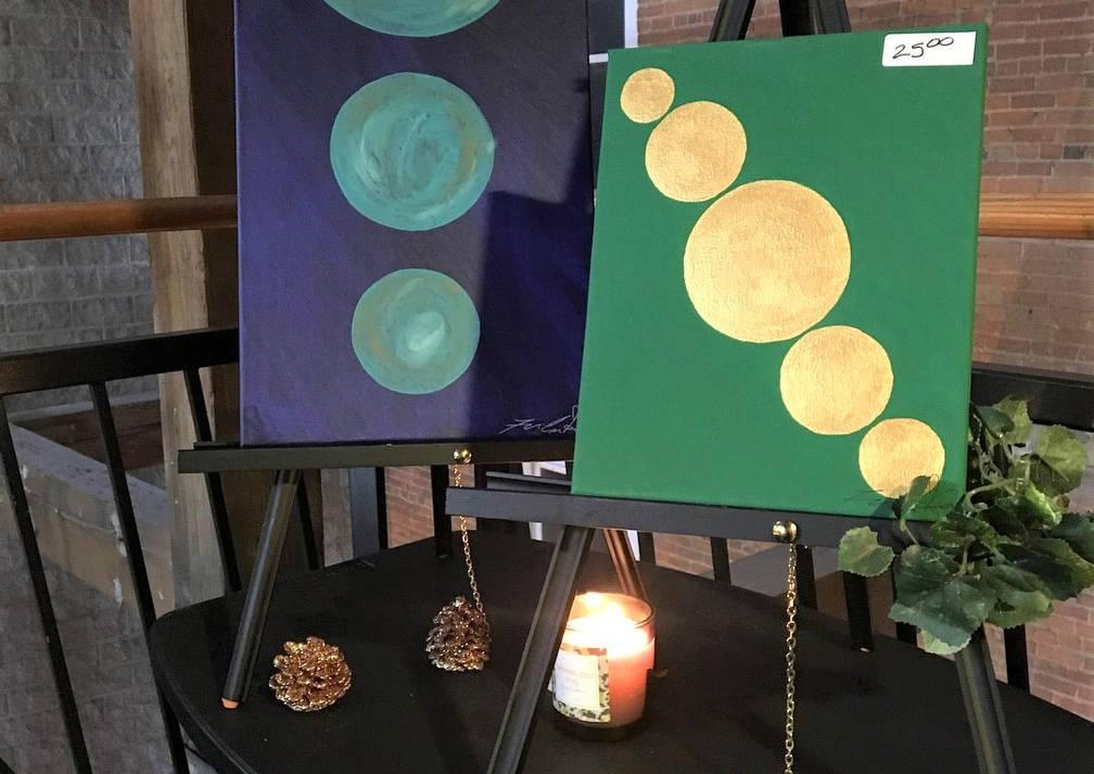 Paintings by Felicia Sherrod
