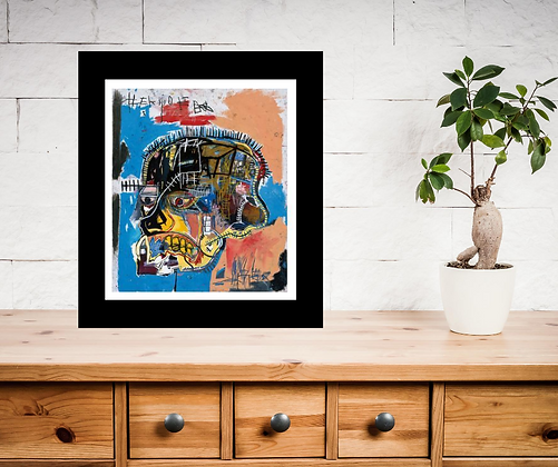 Untitled; Jean Michel Basquiat