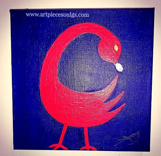 Sankofa Bird Painting
