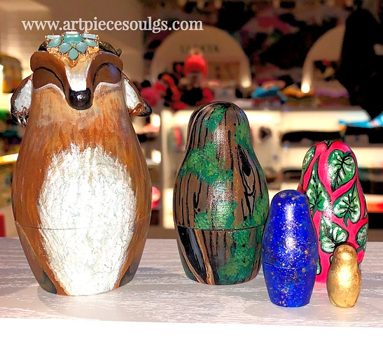 Story of a Faun Nesting Doll Set