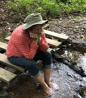 Sharon feet in water.jpg