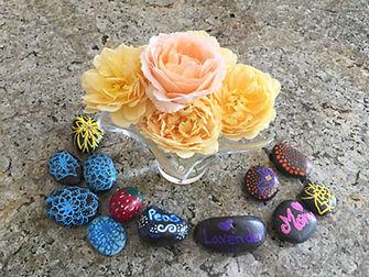 Flowers and pebbles ret.jpg