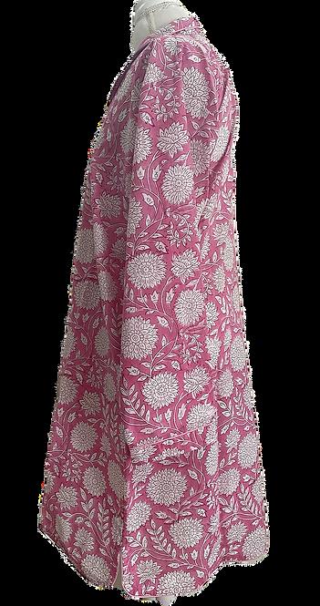 Katharine COTTON Night Shirt No. 3 (pink)