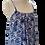 Thumbnail: to the maximum maxi dress en bleu bellflower