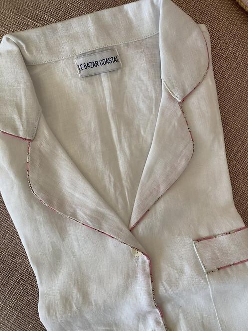Katharine Linen Night Shirt No. 1