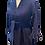 Thumbnail: monceau dress en corduroy, bleu marin