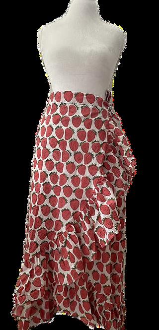 fraise for days wrap skirt