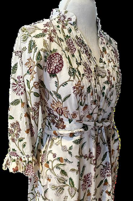 Monceau Dress en September Blooms