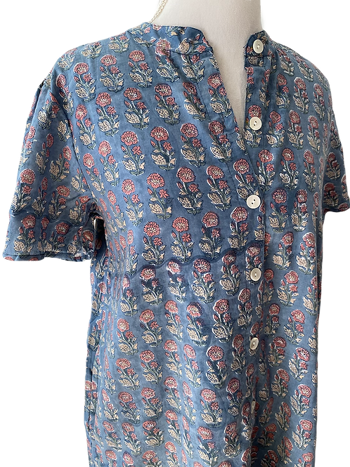 Sabine Shirt Dress - Evening Garden