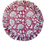 Thumbnail: Flounce Placemat & Napkin Set en Framboise