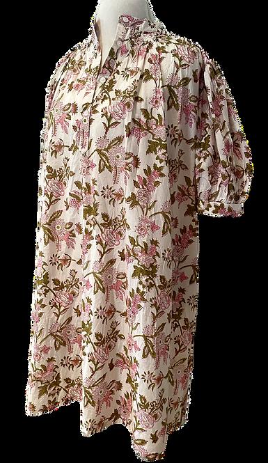 eloise dress en English garden floral toile