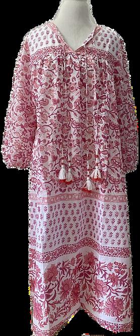 Indian Blockprint Summer Series, Robe No. 1