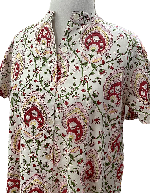 sabine shirt dress en strawberry shortcake