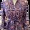 Thumbnail: monceau dress en bleu automne