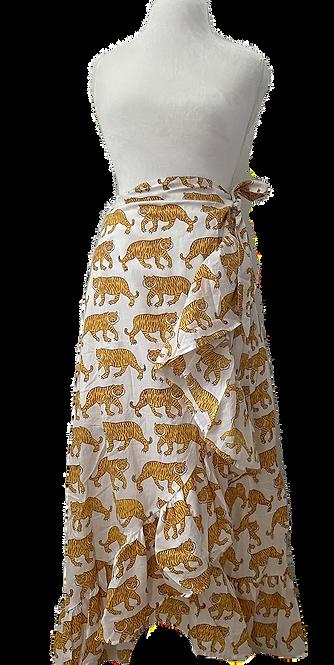 la tigresse wrap skirt