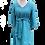 Thumbnail: gemma dress en peacock linen