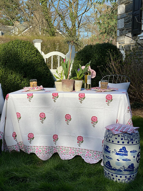 Rose Garden Table Linens