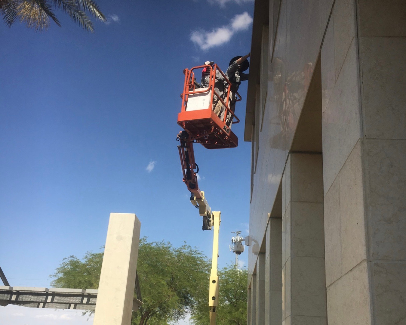 Taking down a beehive in El Centro