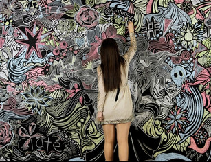 Ciate chalkboard campaign / Agency : Penny Dunning Jones