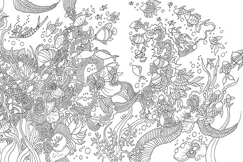 Five Colouring Pages to Print at Home