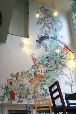 Mural / Zizzi / Harborne