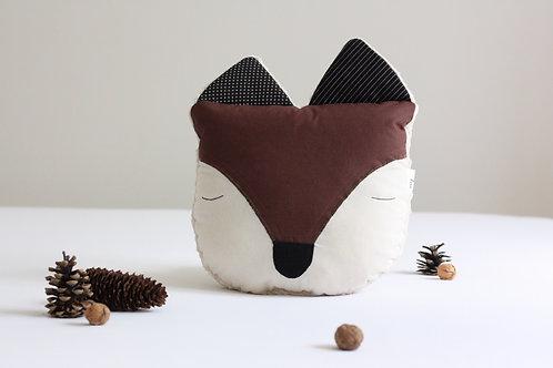 Liška PILLOWPET hnědá