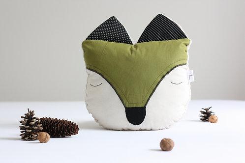 Liška PILLOWPET zelená