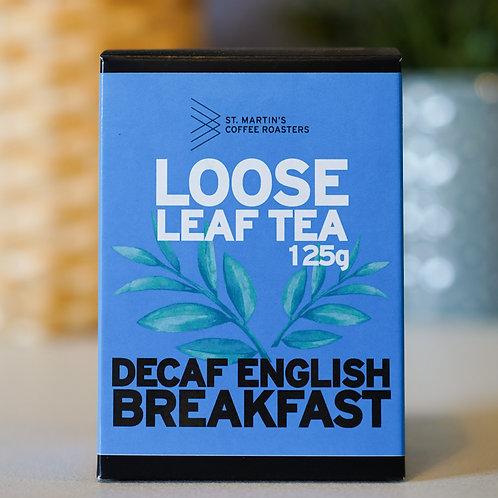 Decaf English Breakfast, Loose Leaf, 125g