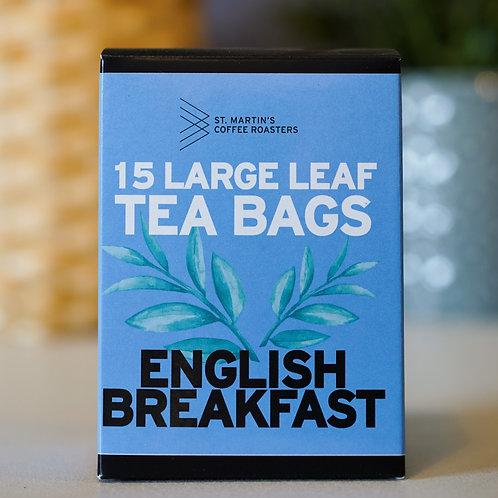 English Breakfast Large Leaf Tea Bags