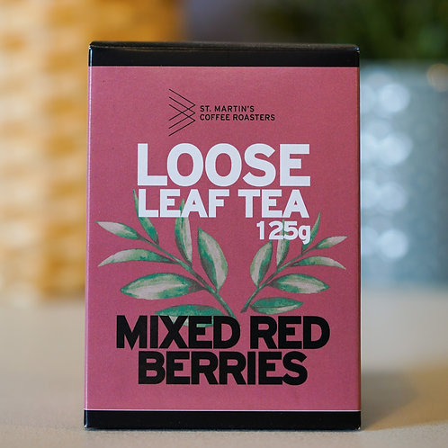 Mixed Red Berries, Loose Leaf, 125g