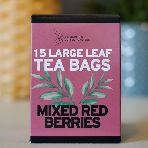 Mixed Red Berries Large Leaf Tea Bags