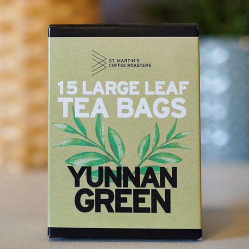 Yunnan Green Large Leaf Tea Bags
