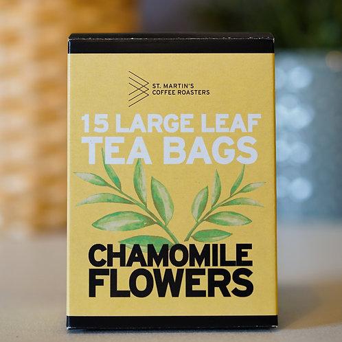 Chamomile Flowers Large Leaf Tea Bags