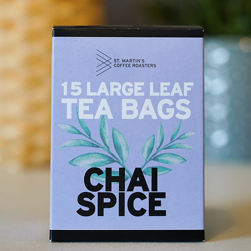 Chai Spice Large Leaf Tea Bags