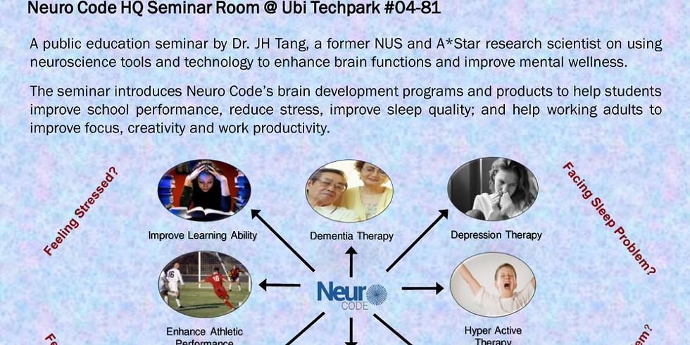 Public Seminar on Brain Development & Mental Wellness