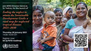 WHO launches new road map for NTDs 2021-2030
