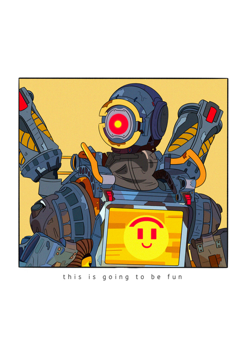 Pathfinder from Apex Legends