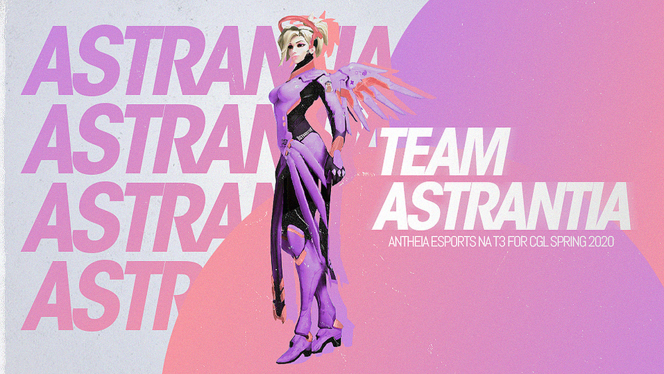 A poster for Team Astrantia