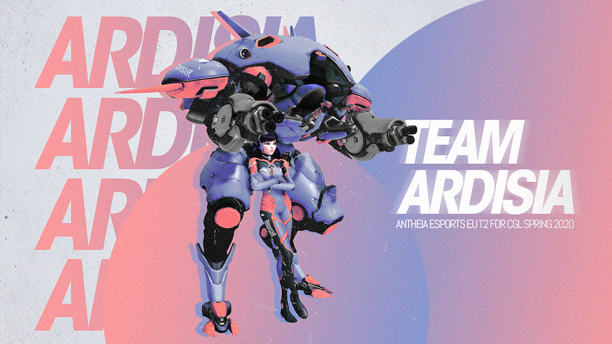 A poster for Team Ardisia