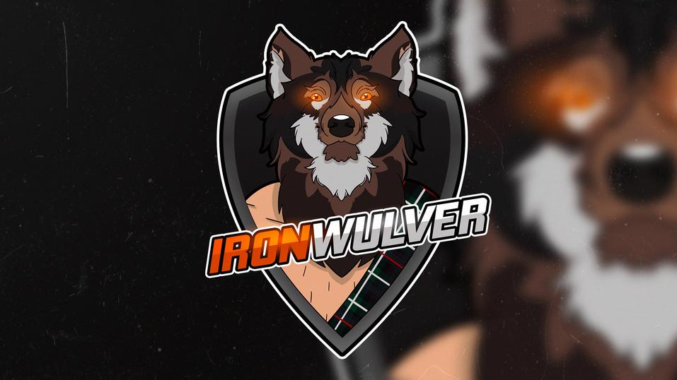 Iron Wulver logo - graphic design by Maija