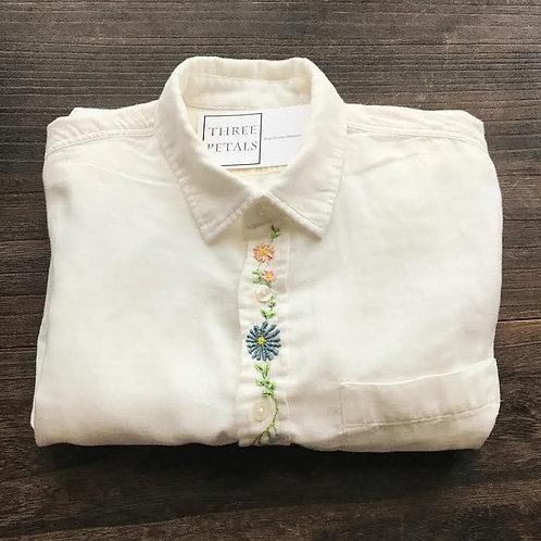 FLOWER (前立て) Yシャツ