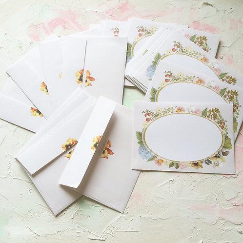 INVITATION 封筒(flower)