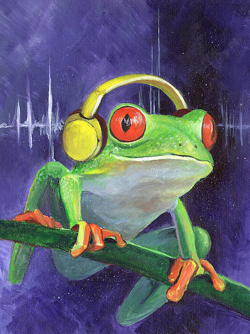 Treefrog - ORIGINAL PAINTING