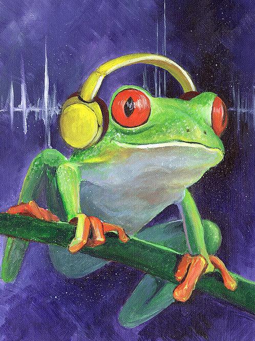 Treefrog -8x10 Print