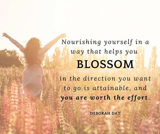Nourishing yourself in a way that helps
