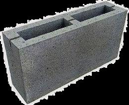Блоки бетонные, простеночные