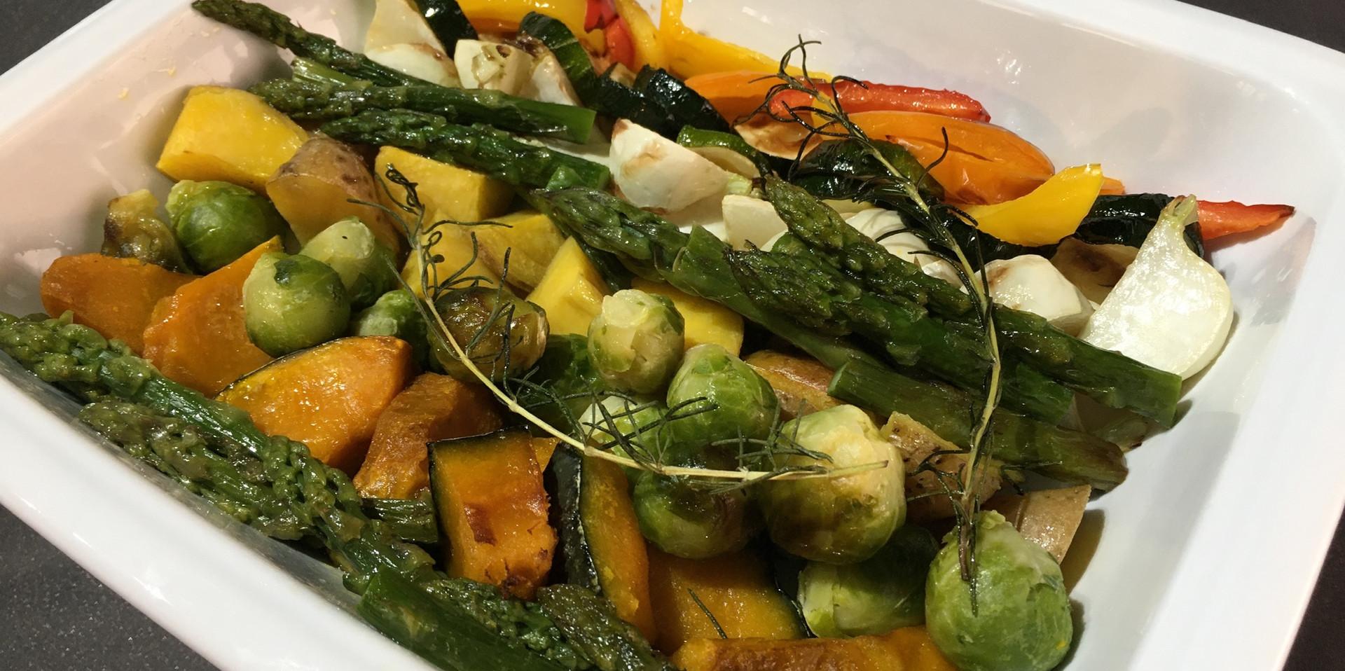 Grilled Vegetables・Honey Balsamic Sauce