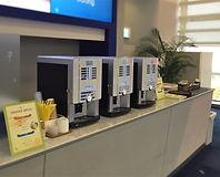 大阪の国際会議場でご用意したケータリングサービスの写真
